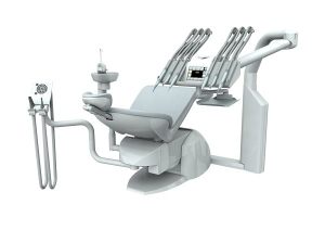 Dental unit PACIFIC EVO for left & right-handed dentists